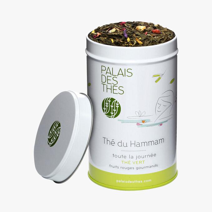 Thé du hammam, thé vert, fruits rouges Palais des Thés