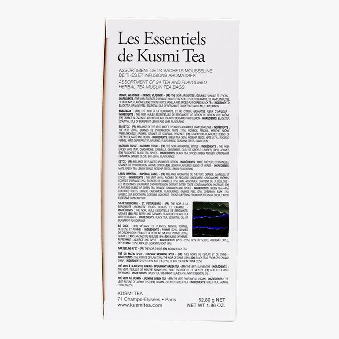 Les essentiels boîte de 24 sachets  Kusmi Tea
