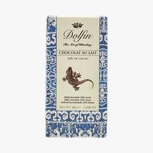 Chocolat au lait 38 % de cacao Dolfin