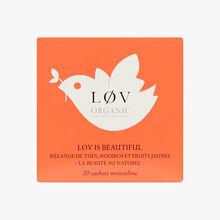 Lov is Beautiful boîte de 20 sachets Lov Organic