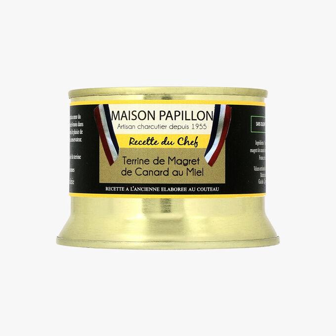 Terrine de magret de canard au miel Maison Papillon