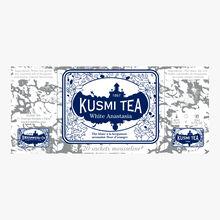 White Anastasia, box of 20 tea bags Kusmi Tea