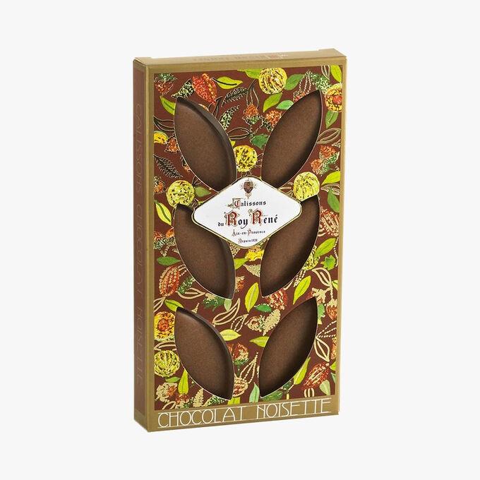 Calissons au chocolat et aux noisettes Le Roy René
