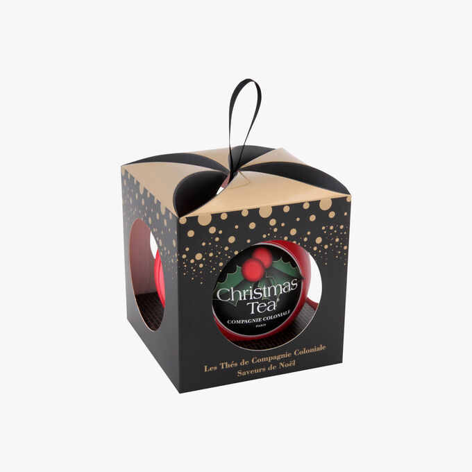 Christmas tea bauble with pouch   Compagnie Coloniale