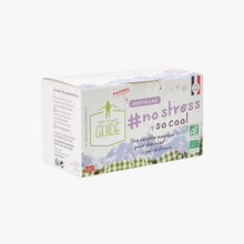 "Infusion ""#no stress so cool"" - 20 teabags La Tisane du Guide"