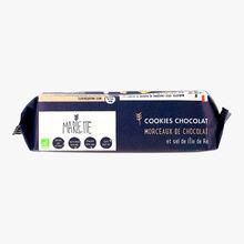 Cookies chocolat aux morceaux de chocolat et sel de l'île de Ré Marlette