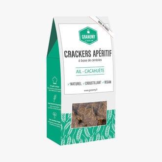 Crackers apéritif ail et cacahuète Granomy
