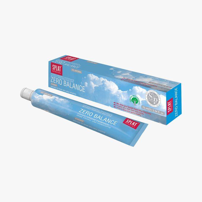 Splat Zero Balance toothpaste - free from flavourings Splat
