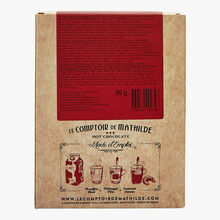 The real hot chocolate - Dark, milk and white chocolate gift set Le Comptoir de Mathilde