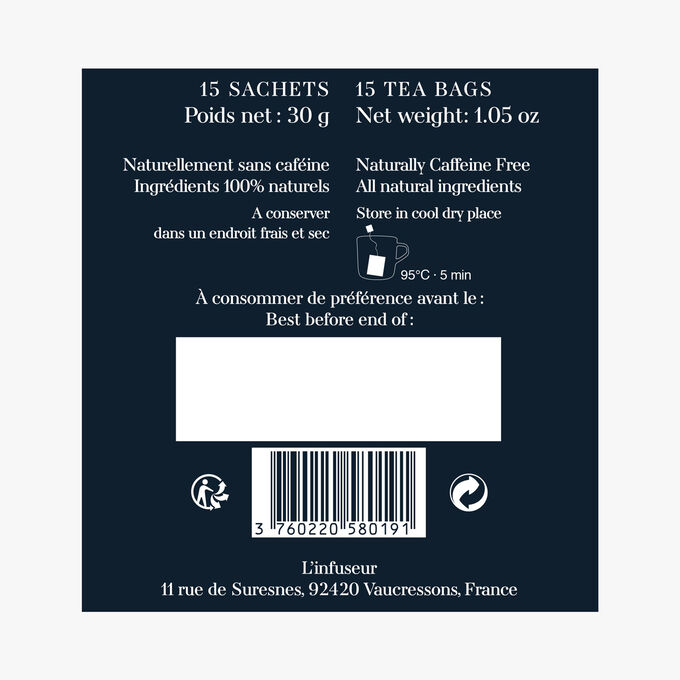 Infusion N°6, 15 sachets L'Infuseur