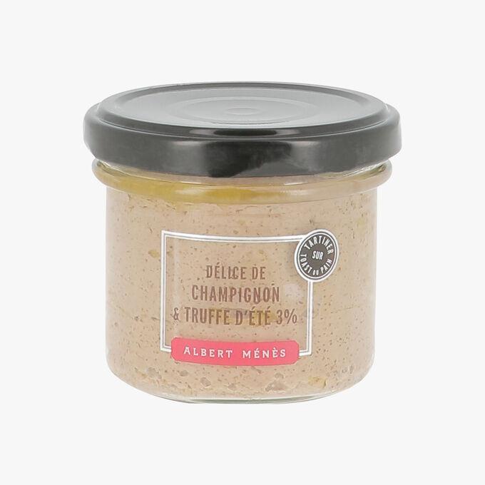 3 % Mushroom and summer truffle delight Albert Ménès