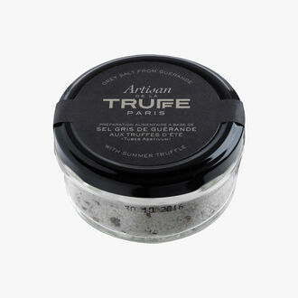 Guérande sea salt with summer truffle  Artisan de la truffe