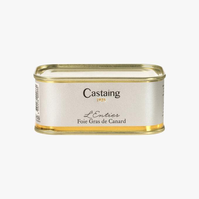Whole duck foie gras Castaing