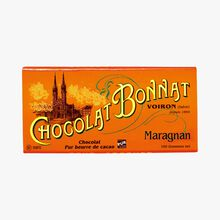 Tablette Maragnan Chocolat noir 75 % de cacao Bonnat