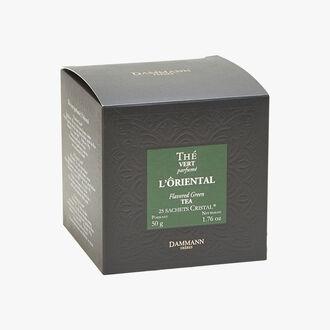 Oriental perfumed green tea - Box of 25 teabags Dammann Frères