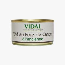 Old-fashioned duck liver pâté Vidal