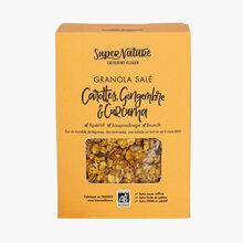 Granola salé carottes, gingembre & curcuma SuperNature Catherine Kluger