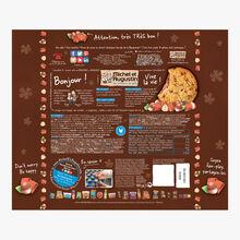 Super cookies cœur fondant au chocolat au lait et noisettes Michel et Augustin