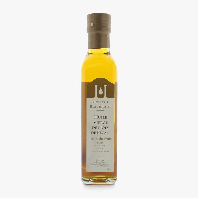 Virgin pecan nut oil Huilerie Beaujolaise