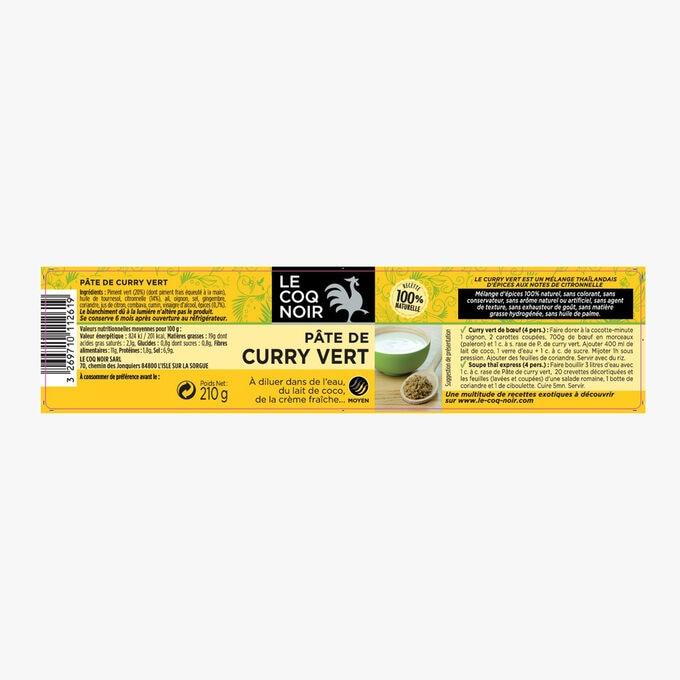 Pate de curry vert Le Coq Noir