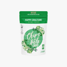 Raw kale chips, natural Happy Crulture
