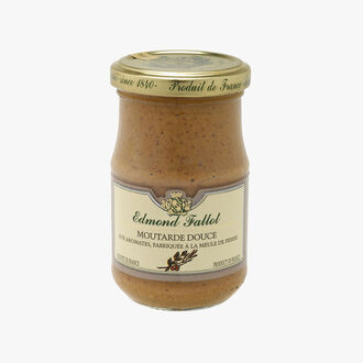 Mild brown mustard with herbs Fallot