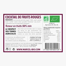 Cocktail de fruits rouges bio Marcel Bio