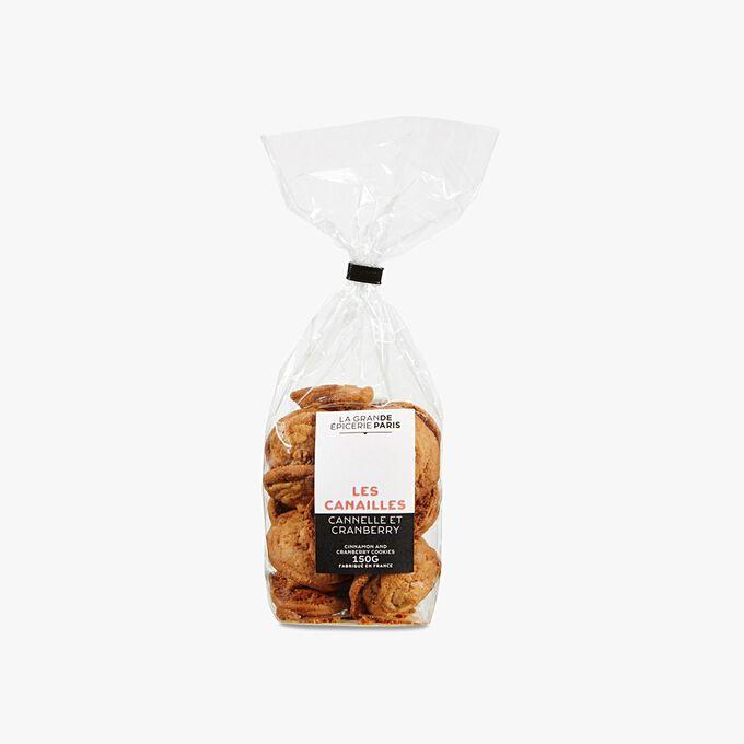 Cranberry biscuits with cinnamon La Grande Épicerie de Paris