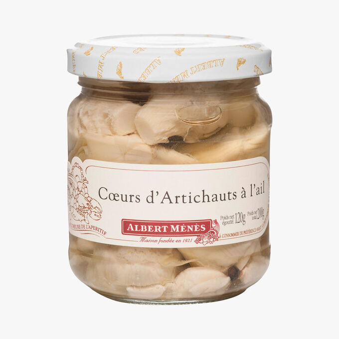 Garlic artichoke hearts Albert Ménès