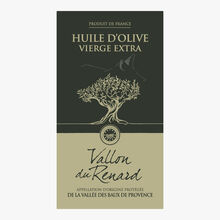 Huile d'olive vierge extra de la Vallée des Baux-de-Provence AOP Le Vallon du Renard