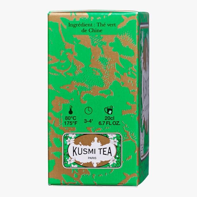 Thé vert gunpowder boîte de 20 sachets Kusmi Tea