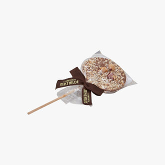 Milk hazelnut lollipop Le Comptoir de Mathilde