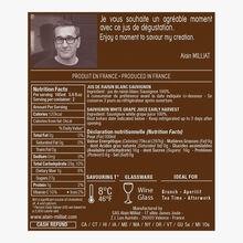 Jus de raisin blanc Sauvignon Alain Milliat