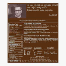 Sauvignon white grape juice  Alain Milliat