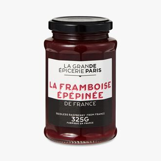 Seedless raspberry jam from France La Grande Épicerie de Paris