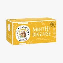 Infusion Menthe réglisse Les 2 Marmottes