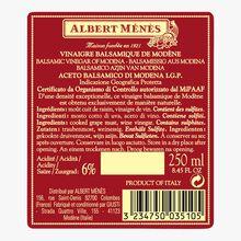 Vinaigre balsamique de Modène Il Denso Giusti Albert Ménès