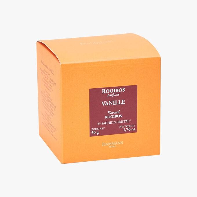 Rooibos parfumé Vanille - Boîte de 25 sachets Dammann Frères