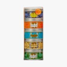 Les brunchs assortiment 5 boîtes métal Kusmi Tea
