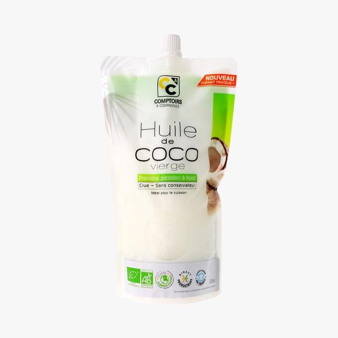 Huile de coco vierge, 450 ml Comptoirs et Compagnies