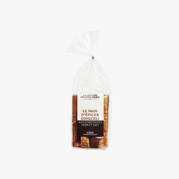 Le pain d'épices Gingerli aux chocolats noir et lait La Grande Épicerie de Paris