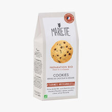 Organic mix for chocolate chip and sesame seed cookies Marlette