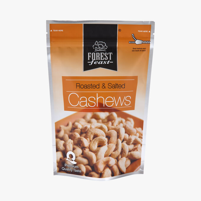 Toasted and salted cashews Forest Feast