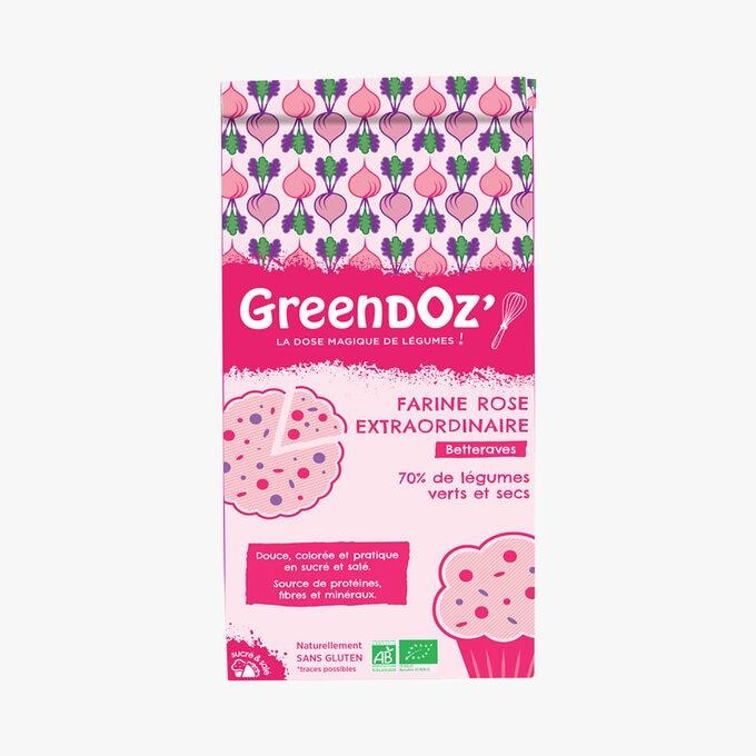 Extraordinary pink flour - Beetroot Greendoz