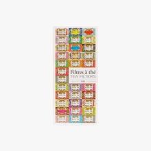 100 filtres à thé en papier Kusmi Tea