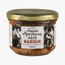 Basque pâté with Espelette chili Maison Arosteguy