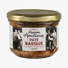Pâté basque au piment d'espelette Maison Arosteguy
