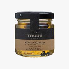 Acacia honey with summer truffle (Tuber Aestivum) Artisan de la truffe