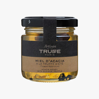 Acacia honey with summer truffle (Tuber Aestivum) Artisan de la truffe