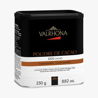 100 % cocoa powder Valrhona